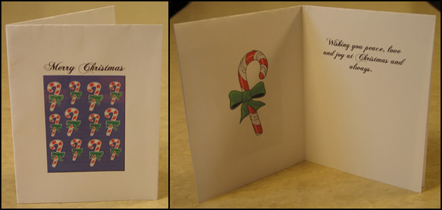 To create your free printable Christmas cards follow the ...