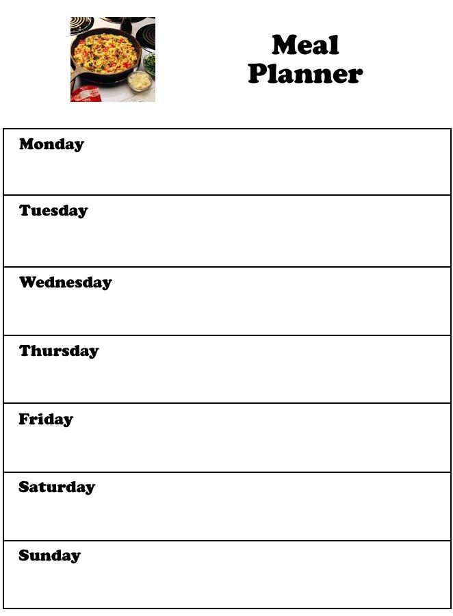 printable weekly planner template .